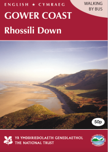 Rhossili Down walk cover