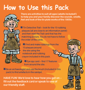 Extract from trail pack - how to uyse