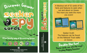 Gower spy cards cover and back
