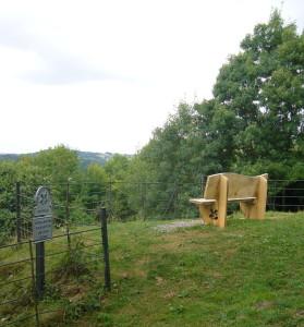 Sham Castle bench