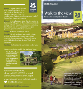 Walk to the View front :back cover