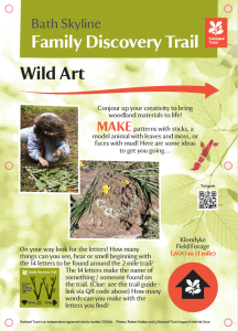 Wild art activity post